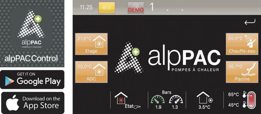 Application alpPAC control